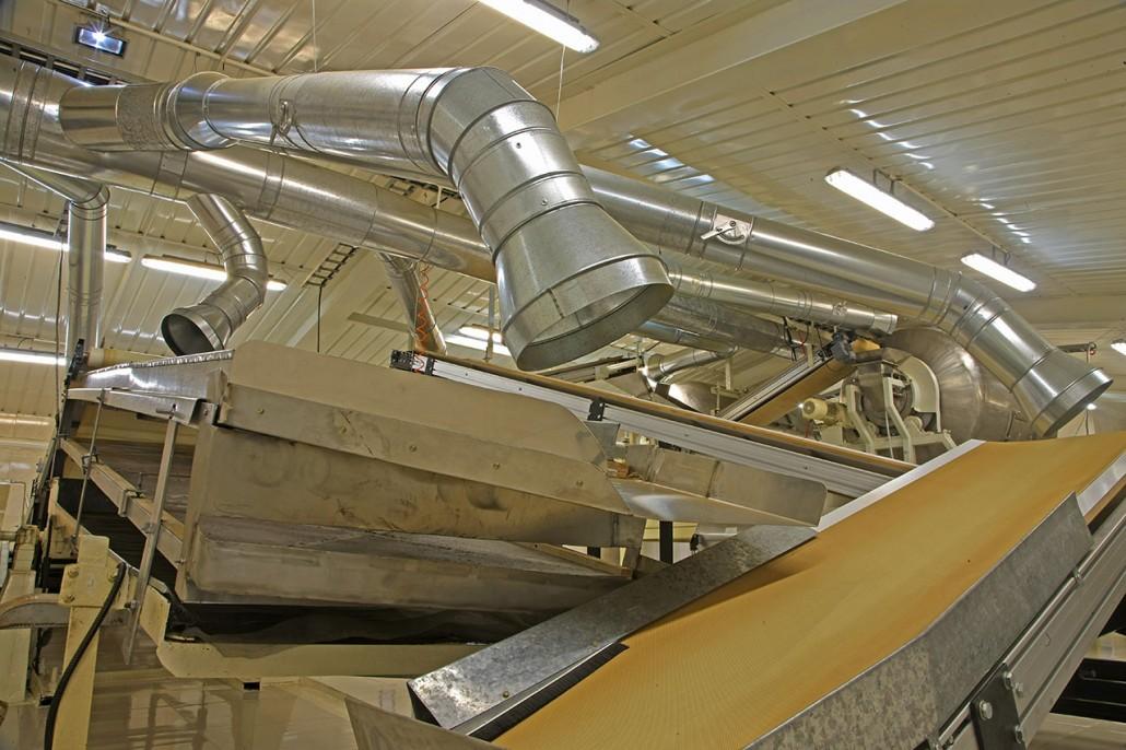 تهویه فن هواکش صنعتی