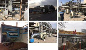 پروژه بازسازى سیستم تهویه اشپز خانه پالایشگاه نفت پارس